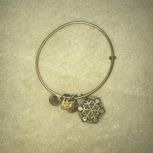 Snowflake Alex and Ani Bangle